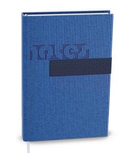 Notepad lined with a pocket A6 - vigo blue, blue 2022