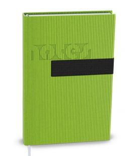Notepad lined with a pocket A6 - vigo green, black 2022