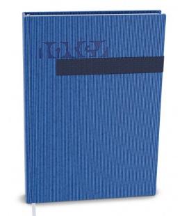 Notepad lined with a pocket A5 - vigo blue, blue 2022