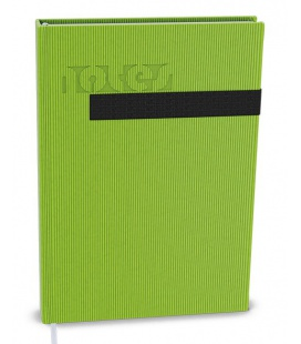 Notepad lined with a pocket A5 - vigo green, black 2022