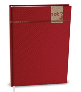 Notepad lined with a pocket A6 - denim 2022
