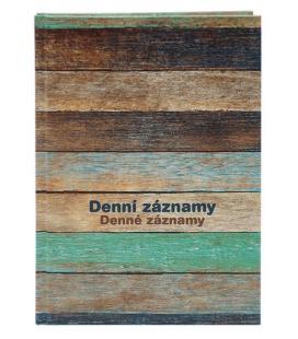 Diary - Daily Notes A4 - Dřevo 2022