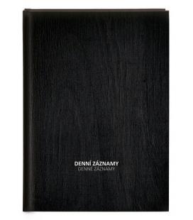 Diary - Daily Notes A4 - black 2022