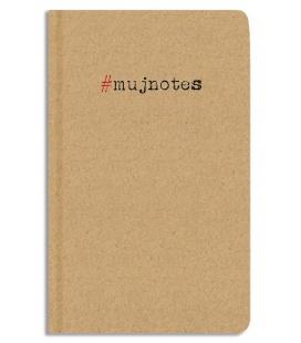 Notepad lined - A5 - kraft - #mujnotes 2022