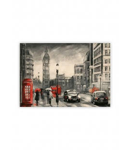 Wall calendar - Wooden picture - London 2022