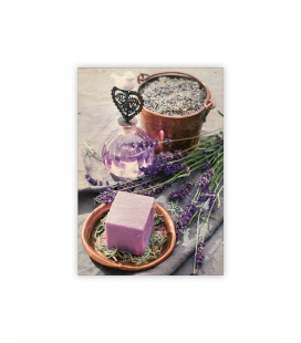 Wall calendar - Wooden picture - Provence 2022