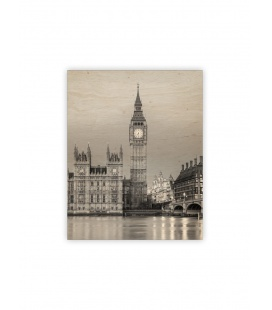 Wall calendar - Wooden picture - Big Ben 2022