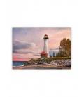 Wall calendar - Wooden picture - Lighthouse 2022