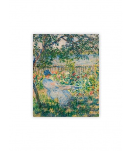 Wall calendar - Wooden picture - Impressionism 2022