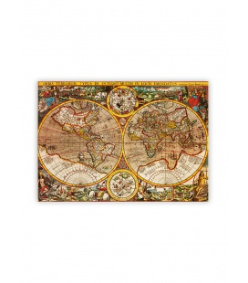 Wall calendar - Wooden picture - Antique Maps 2022