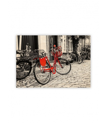 Wall calendar - Wooden picture - Bicycle 2022