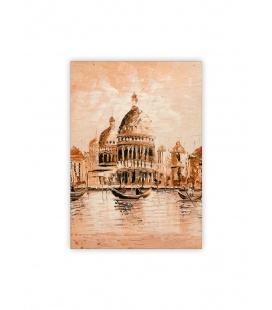 Wall calendar - Wooden picture - Venezia II. 2022