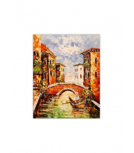 Wall calendar - Wooden picture - Venezia III. 2022