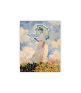 Wall calendar - Wooden picture - Monet 2022