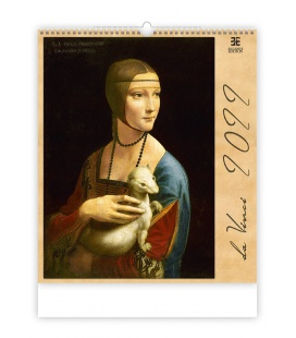 Wall calendar Leonardo da Vinci 2022