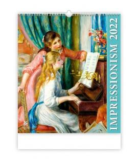 Wall calendar Impressionism 2022