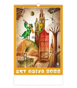 Wall calendar Art Naive 2022