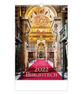 Wall calendar Bibliotech 2022