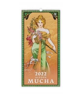 Wall calendar Alfons Mucha 2022