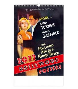 Wall calendar Hollywood Posters 2022