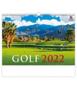 Wall calendar Golf 2022