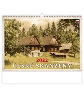 Wall calendar České skanzeny 2022