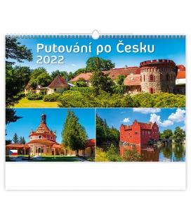 Wall calendar Putování po Česku 2022