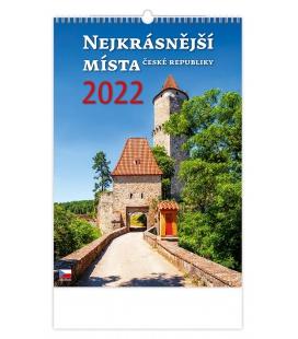 Wall calendar Nejkrásnější místa ČR 2022