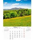 Wall calendar Naše příroda 2022