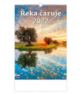 Wall calendar Řeka čaruje 2022