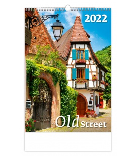 Wall calendar Old Street 2022