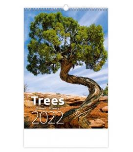 Wall calendar Trees/Bäume/Stromy 2022