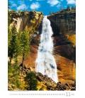 Wall calendar Waterfalls 2022