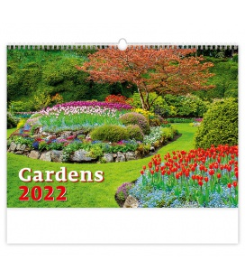 Wall calendar Gardens 2022