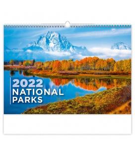 Wall calendar National Parks 2022