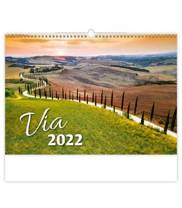 Wall calendar Via 2022