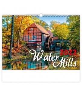 Wall calendar Water Mills 2022
