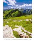 Wall calendar Alps 2022