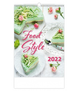 Wall calendar Food Style 2022