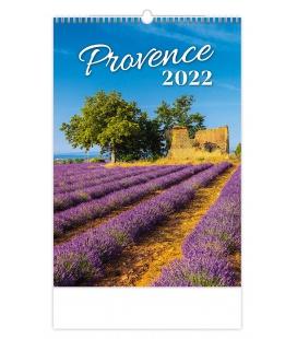 Wall calendar Provence 2022