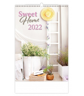 Wall calendar Sweet Home 2022
