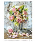 Wall calendar Magic Flowers/Magische Blumen/Živé květy/Živé kvety 2022