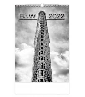 Wall calendar B&W 2022