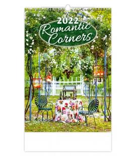 Wall calendar Romantic Corners 2022