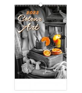 Wall calendar Colour Art 2022