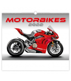 Wall calendar Motorbikes 2022