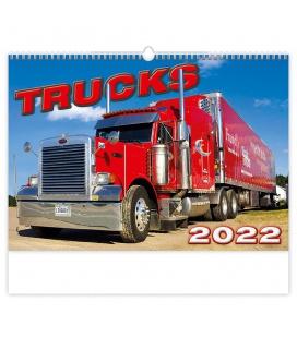 Wall calendar Trucks 2022