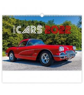 Wall calendar Retro Cars 2022