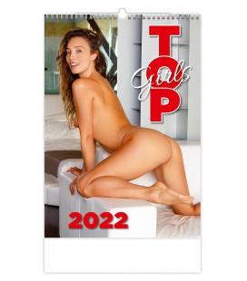Wall calendar Top Girls 2022