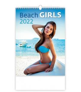 Wall calendar Beach Girls 2022